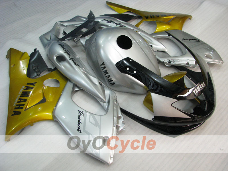 Injection ABS Fairing kit For Yamaha YZF600R 1997-2007 - Yellow Silver - Factory Style