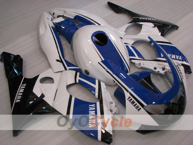 Injection ABS Fairing kit For Yamaha YZF600R 1997-2007 - Blue White - Factory Style