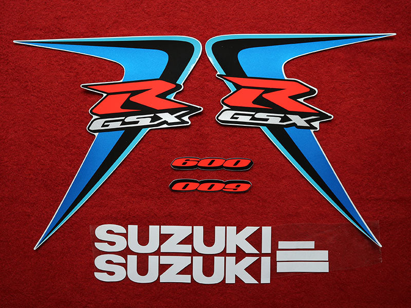 Motorcycle Fairings Decal / Sticker Suzuki - GSX-R600-750  2006-2007