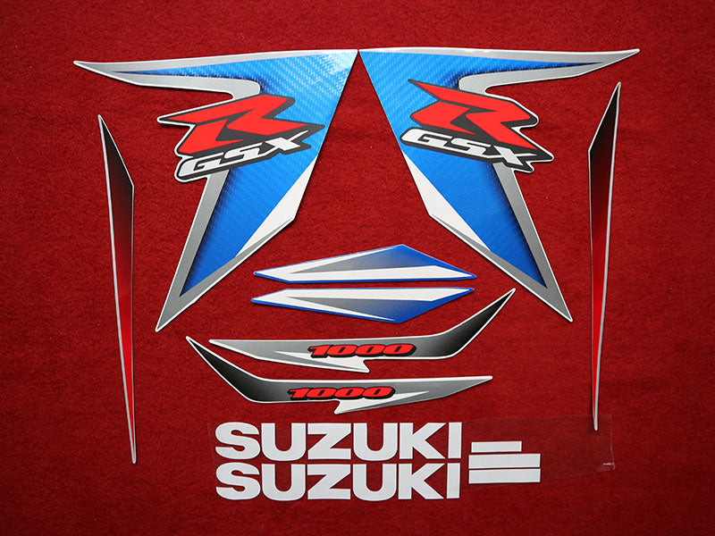 Motorcycle Fairings Decal / Sticker Suzuki - GSX-R1000  2007- 2008