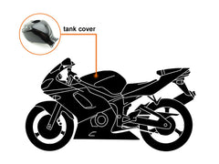 Injection ABS Fairing kit For Honda VFR800 2002-2013 - Orange, Black - Rossi - shopping wholesale - OyOCycle
