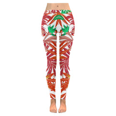 Autumn Leaves Low Rise Leggings - dianadu-designs