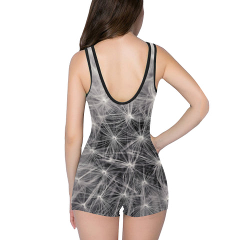 Dandelion Fluff Women's One Piece Romper - dianadu-designs