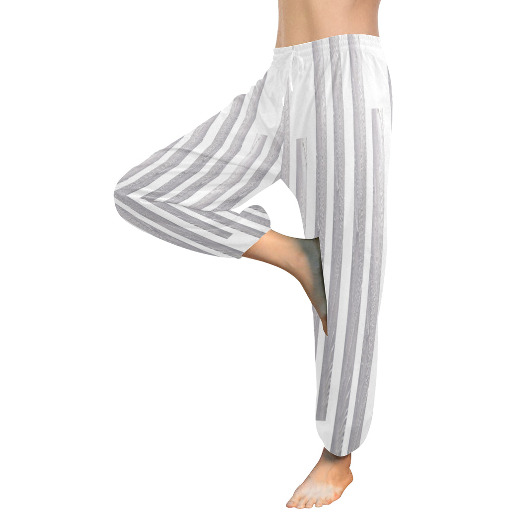 Linear Maze Women's Harem Pants - dianadu-designs