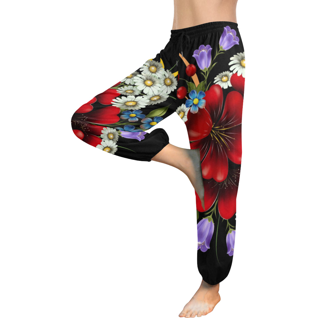Flower Garden Women's Harem Pants - dianadu-designs