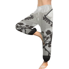 Abstract Flowering Tree Women's Harem Pants