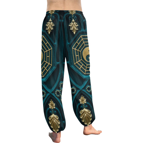 Yin and Yang Abstract Women's Harem Pants - dianadu-designs