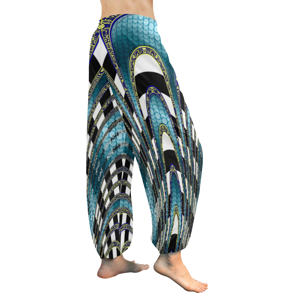 Snake and Zebra Women's Harem Pants - dianadu-designs