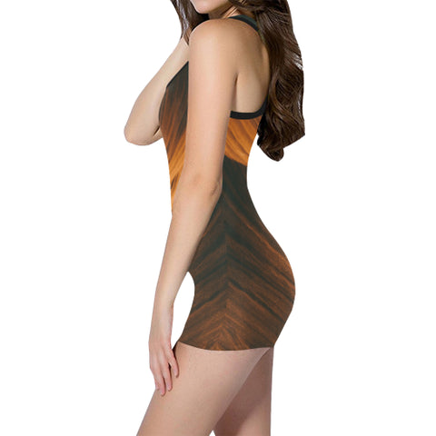 Blonde Waves Women's One Piece Romper - dianadu-designs