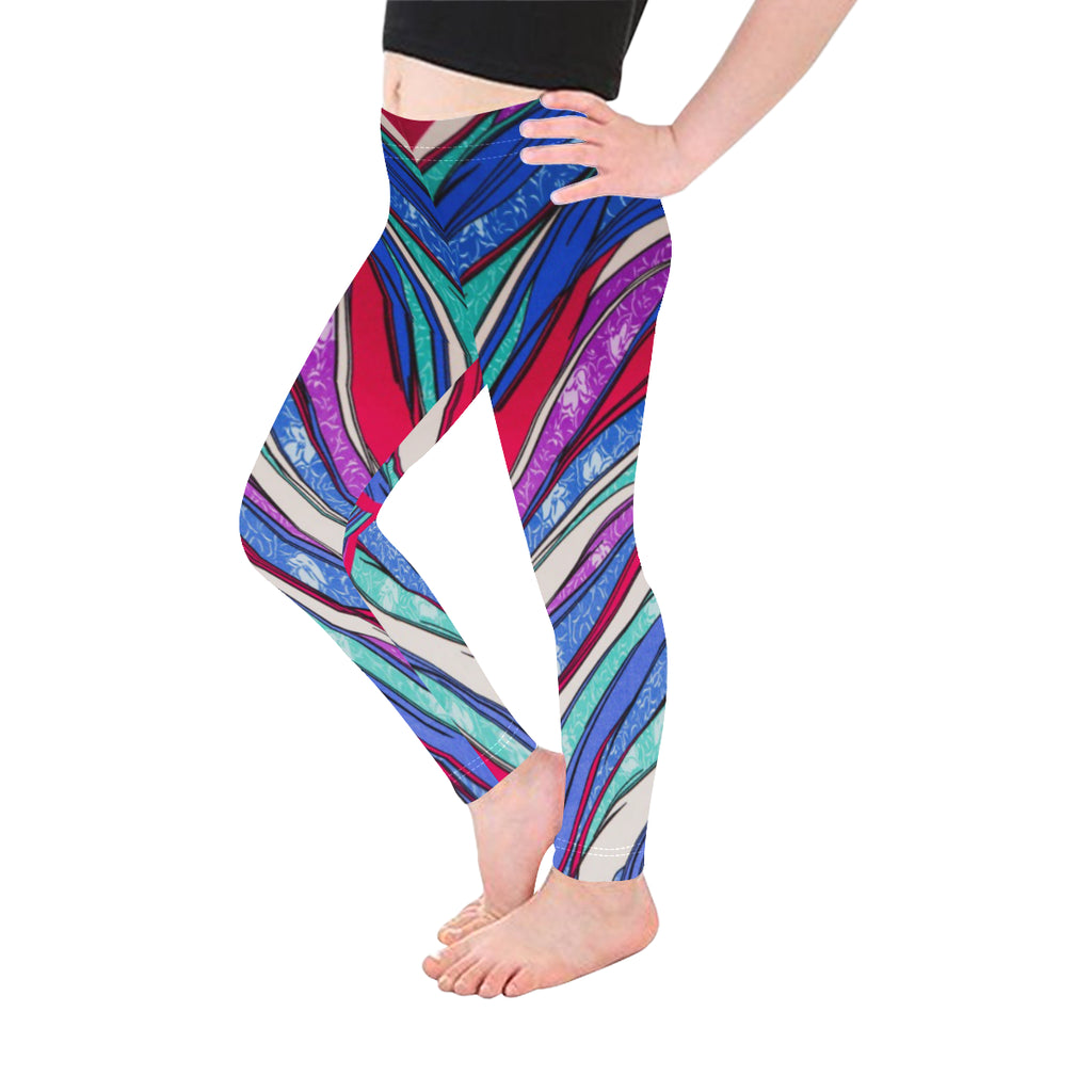 Coloring Book Mini-Me All-Over Kid's Leggings