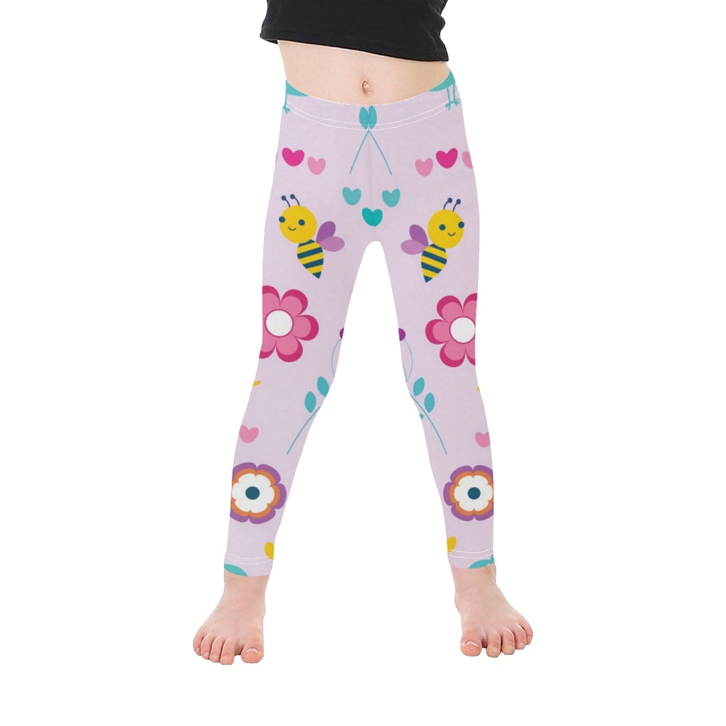 Birds, Bees and Butterflies Kid's Leggings