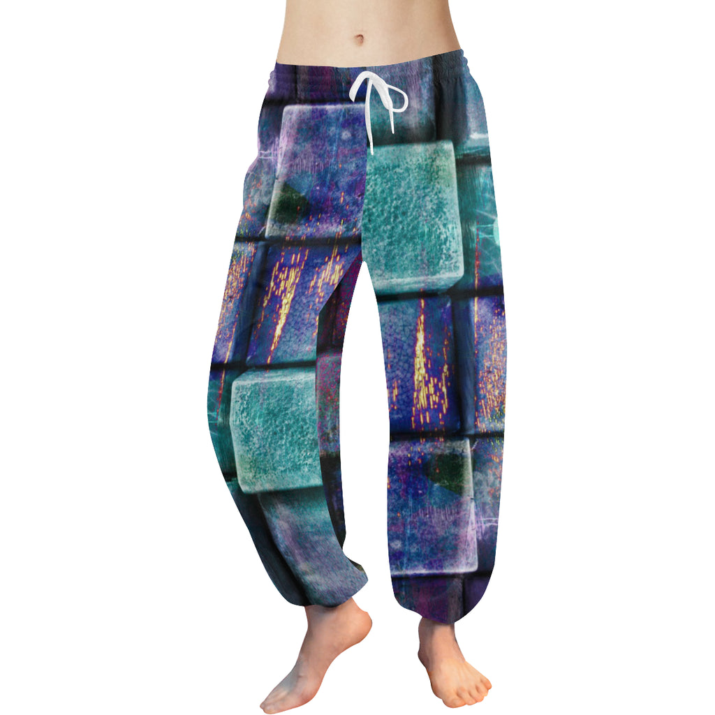 Cubism Women's Harem Pants - dianadu-designs