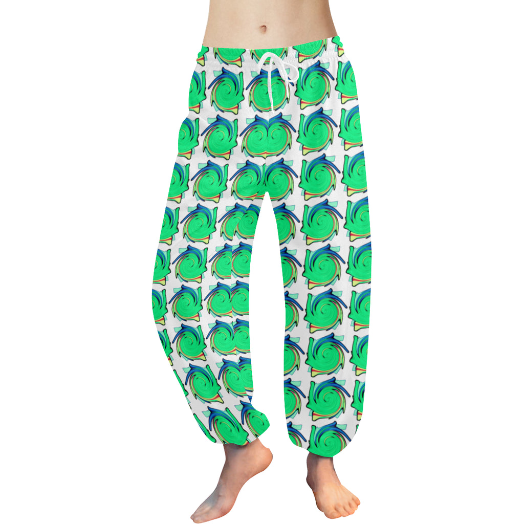 Spinning Pillows Women's Harem Pants - dianadu-designs