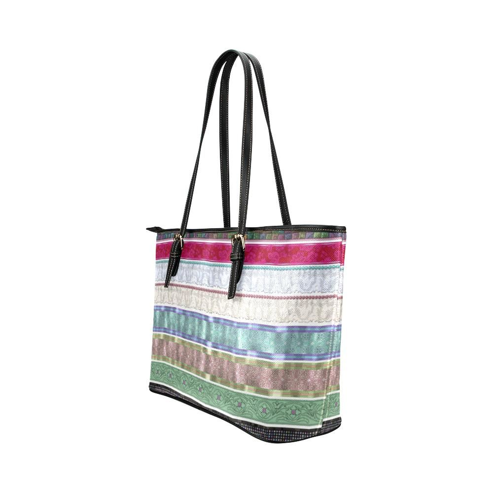 Wrapped Up Leather Tote Bag - dianadu-designs