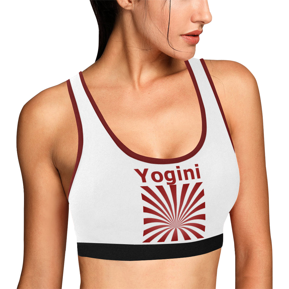 Blast Off Women's All Over Print Sports Bra