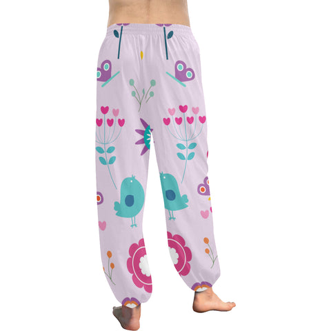 Birds, Bees and Butterflies Women's All Over Print Harem Pants