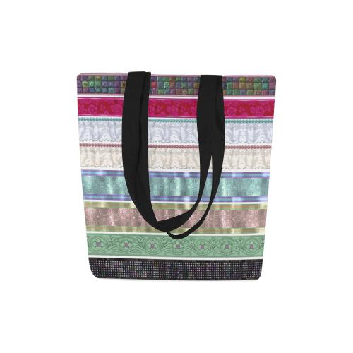 Wrapped Up Canvas Tote Bag - dianadu-designs