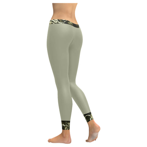 Camo Graffiti Low Rise Leggings - dianadu-designs