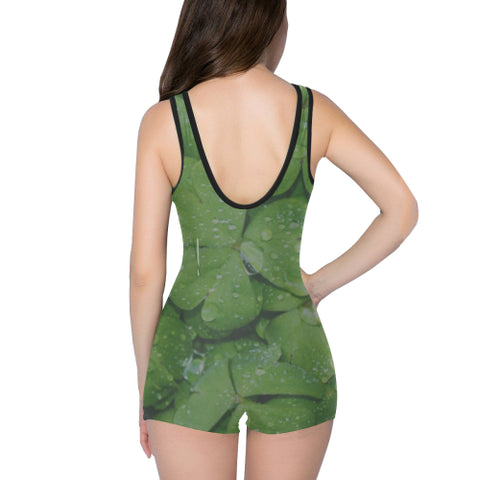 Dewdrops Women's One Piece Romper - dianadu-designs