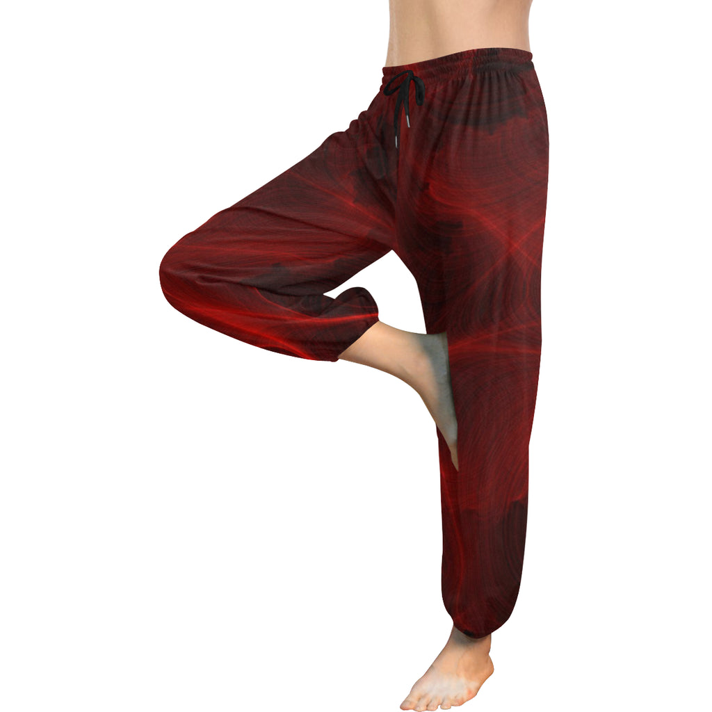 Crimson Web Women's Harem Pants - dianadu-designs