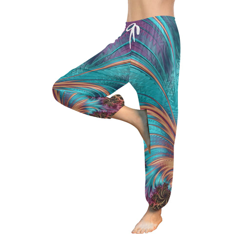 Tropical Paradise Women's Harem Pants - dianadu-designs