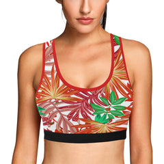 Autumn Leaves Women's Sports Bra