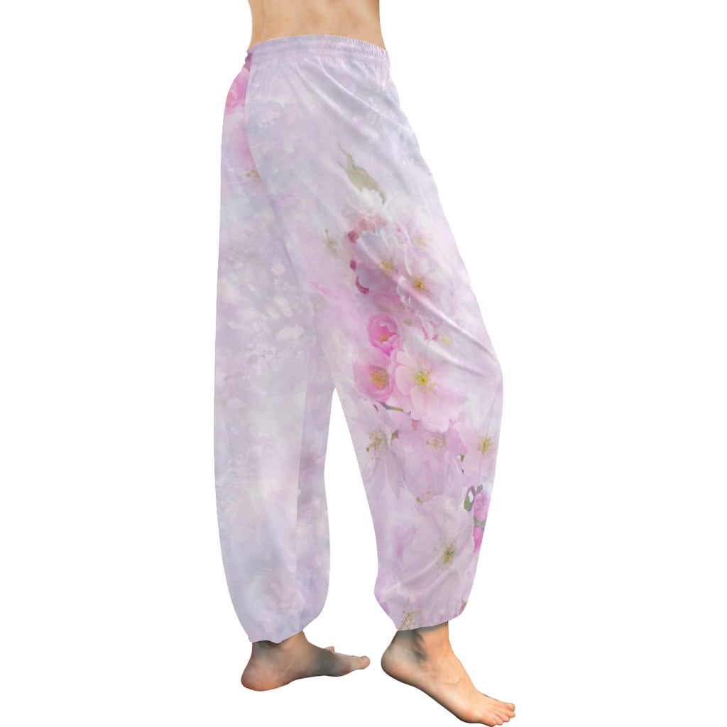 Delicate Blossoms Women's Harem Pants - dianadu-designs