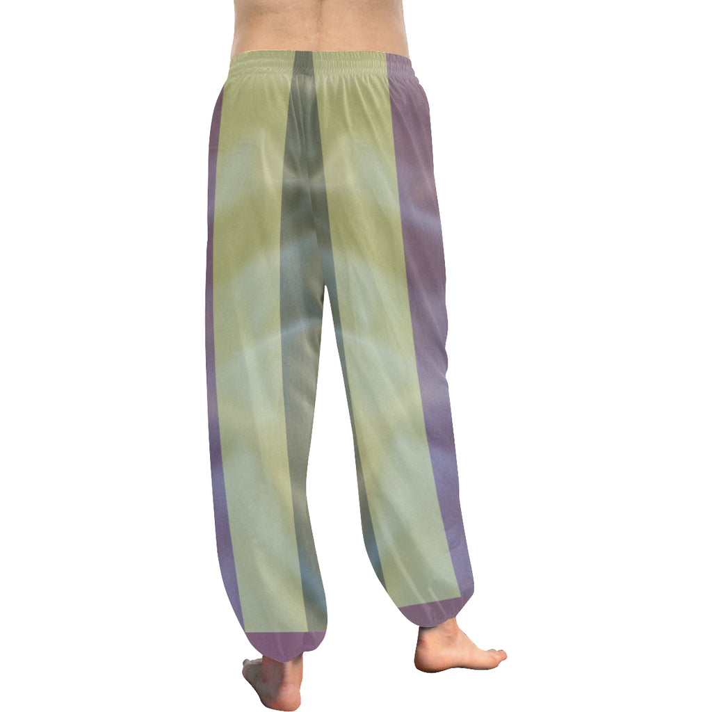 Linen Stripes Women's Harem Pants - dianadu-designs