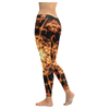 Image of Fire Mandala Women's Low Rise Legging