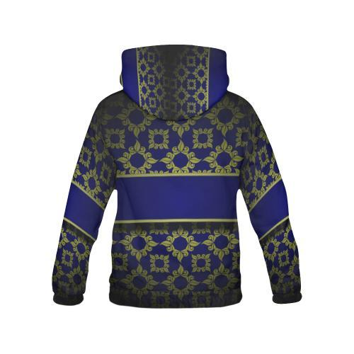 Banded Beauty Women's Hoodie - dianadu-designs