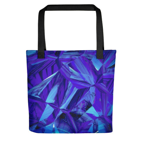 Blue Fractals Tote Bag - dianadu-designs