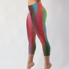 Image of Blurred Lines Low Rise Capri Leggings - dianadu-designs