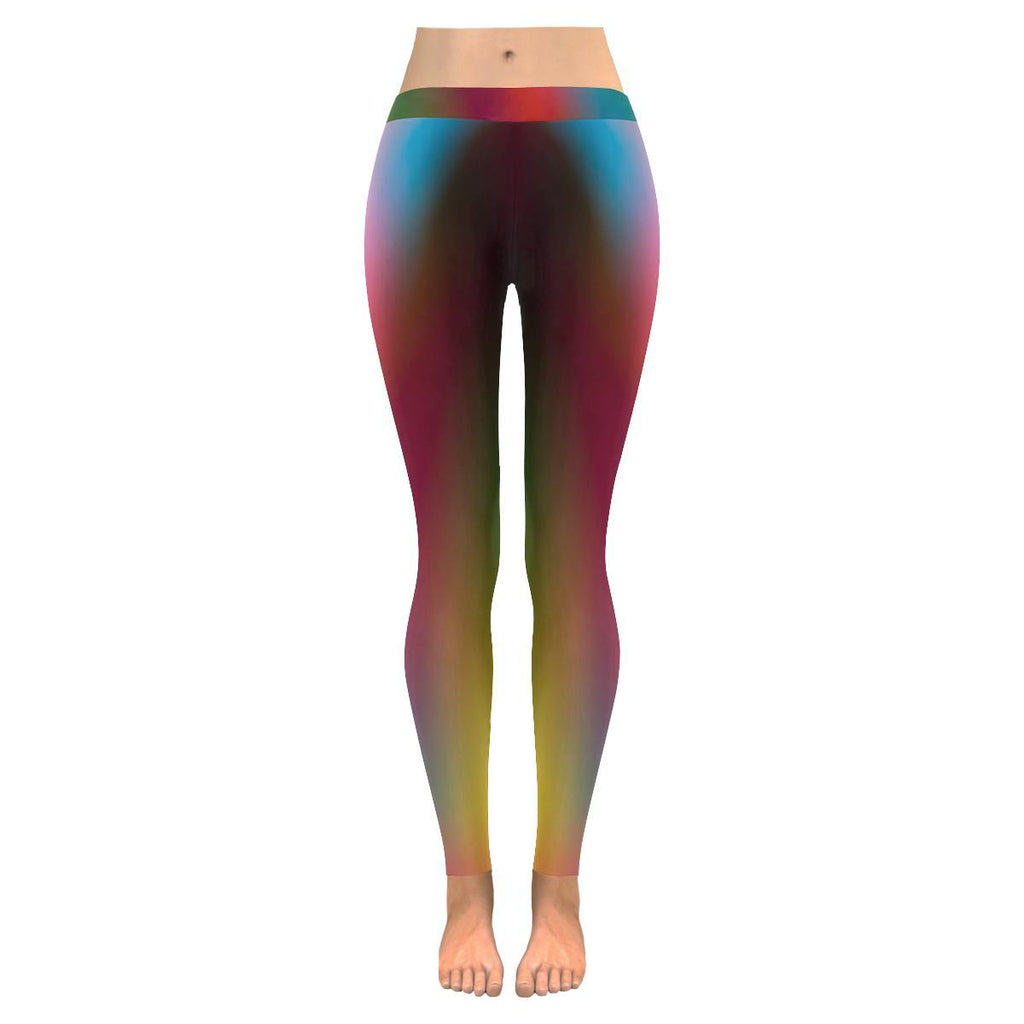 Blurred Lines Low Rise Leggings - dianadu-designs