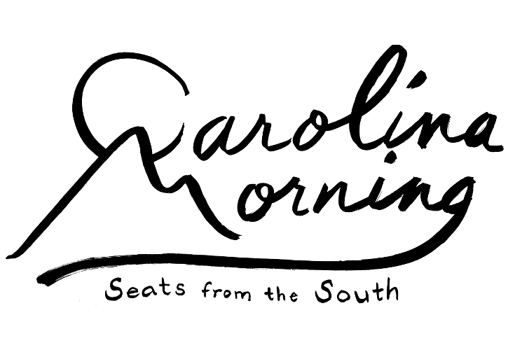 Carolina Morning Removable Smile Cushion Cover - dianadu-designs