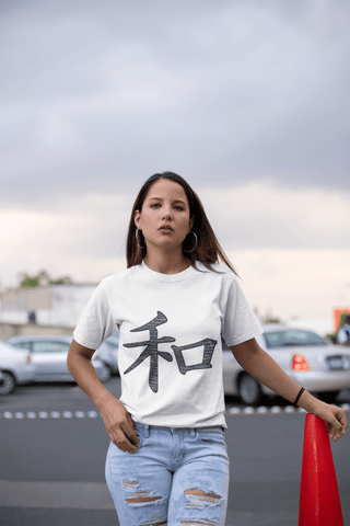 Chinese Symbols  - Women's Short Sleeve T-Shirt - dianadu-designs