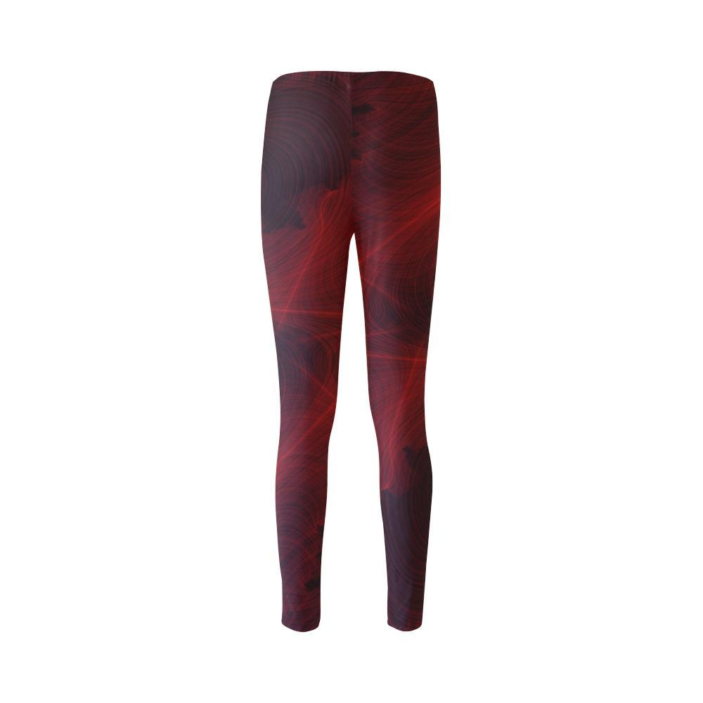Crimson Web High-Waist Leggings - dianadu-designs