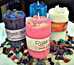 Crystal Magic Candle Collection - dianadu-designs