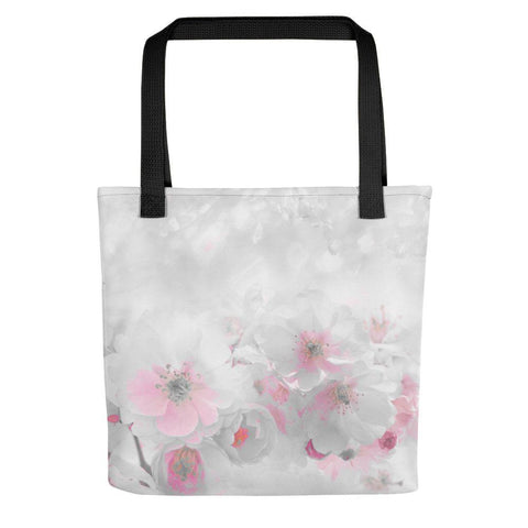Delicate Blossoms Tote Bag - dianadu-designs