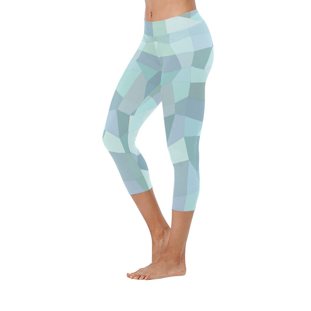 Dianadu Signature Collection Low Rise Capri Leggings - dianadu-designs