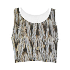 Dream Weaver Women's Fitted Crop Top