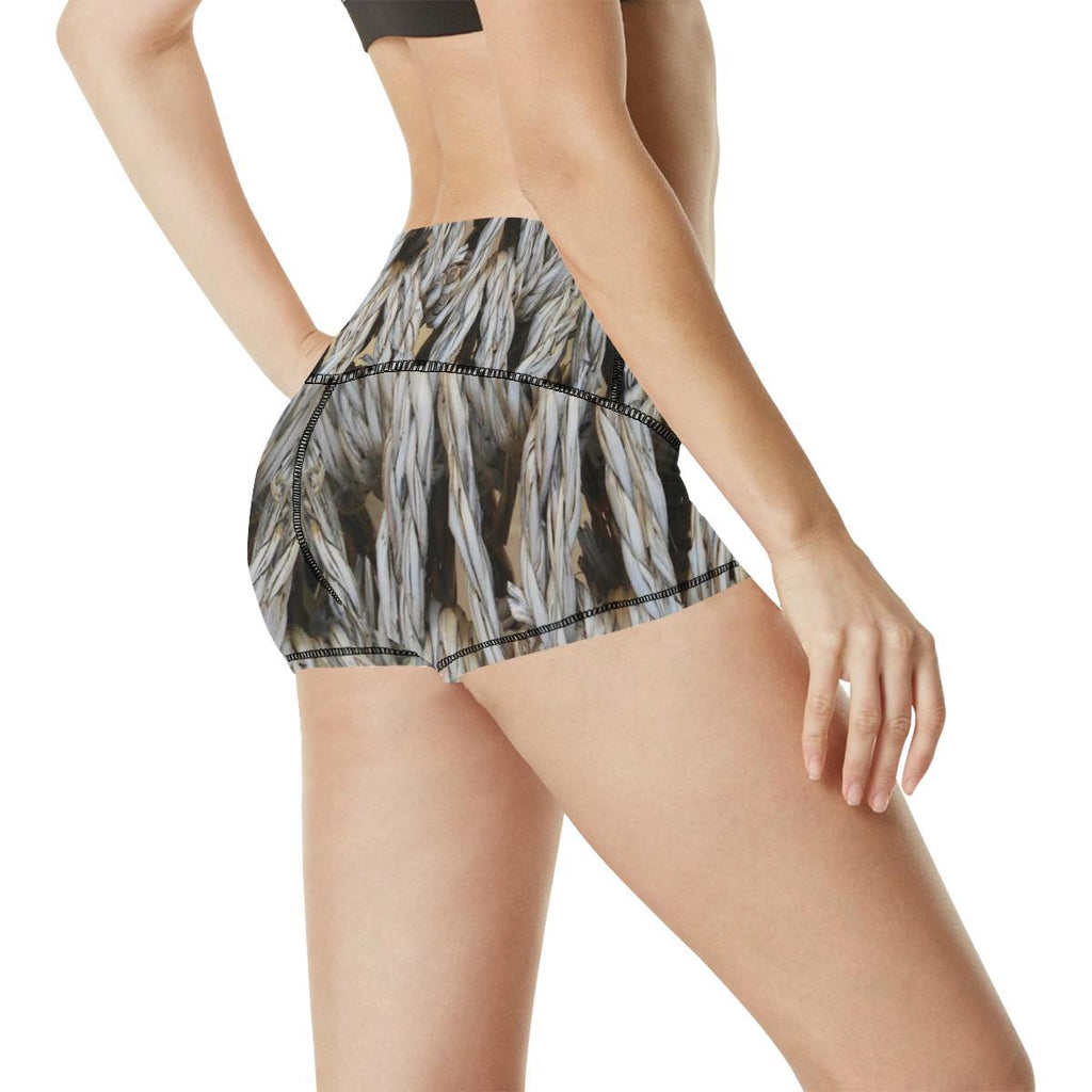 Dream Weaver Women's Yoga Shorts - dianadu-designs