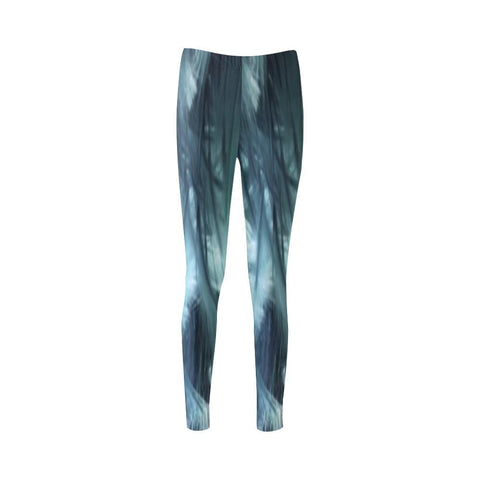 Ethereal Marshland High-Waist Leggings - dianadu-designs