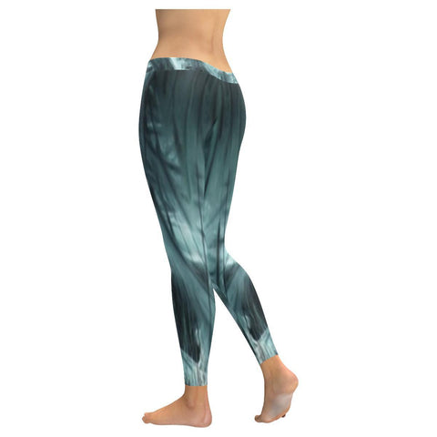 Ethereal Marshlands Low Rise Leggings - dianadu-designs
