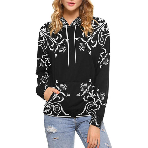 Filigrees Women's Hoodie - dianadu-designs