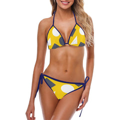 Geometric Abstract Custom Bikini - dianadu-designs