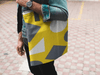 Image of Geometric Abstract Tote Bag - dianadu-designs