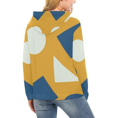 Geometric Abstract Women's Hoodie