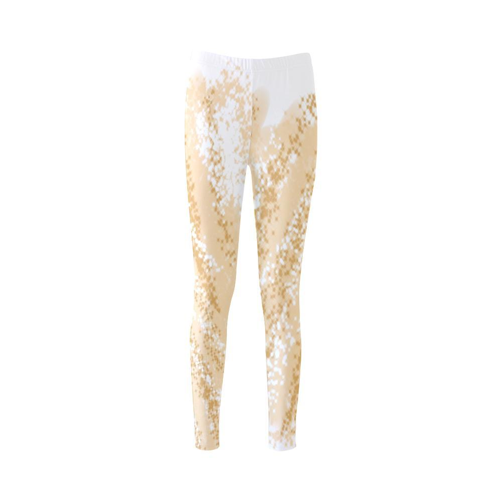 Golden Wheat High-Waist Leggings - dianadu-designs