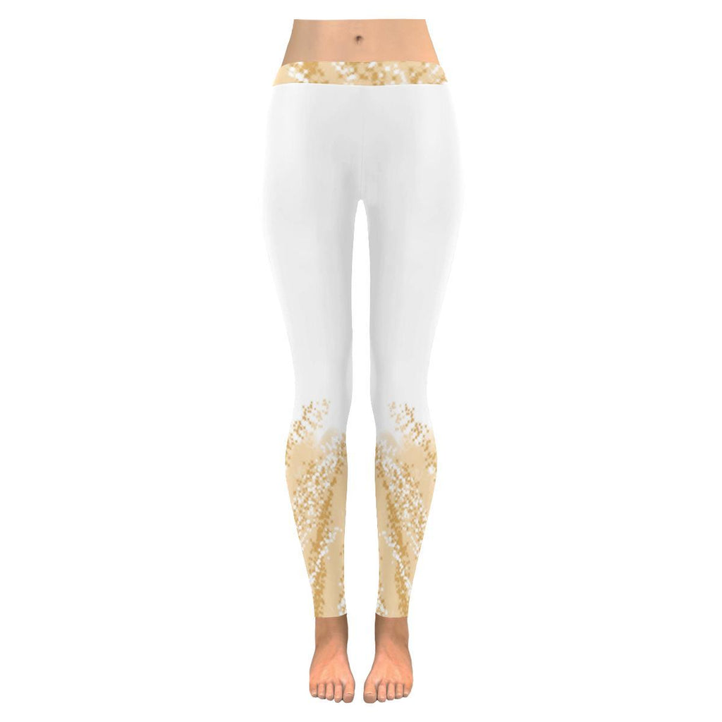 Golden Wheat Low Rise Leggings - dianadu-designs