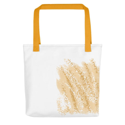 Golden Wheat Tote Bag - dianadu-designs